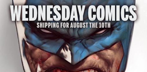 [Wednesday Comics 10/08/2016]