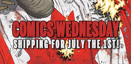 [Comics Wednesdays 01/07/2015]