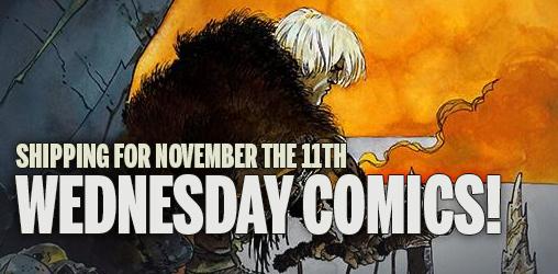 [Wednesday Comics 11/11/2015]