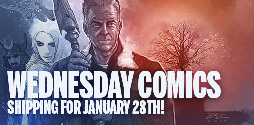 [Comics Wednesday 28/01/2015]