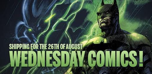[Comics Wednesday 26/08/2015]