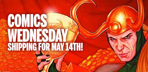 [Comics Wednesday 14/05/2014]
