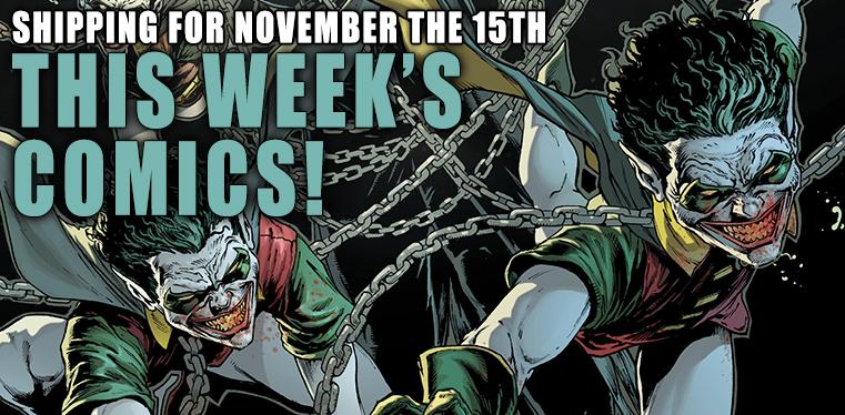 [Wednesday Comics 15/11/2017]