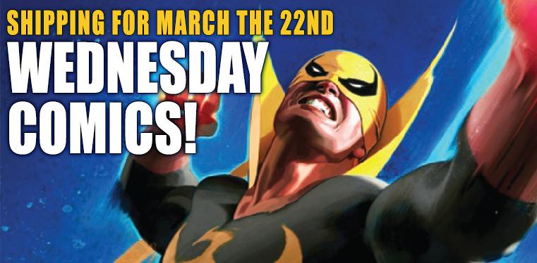 [Wednesday Comics 22/03/2017]