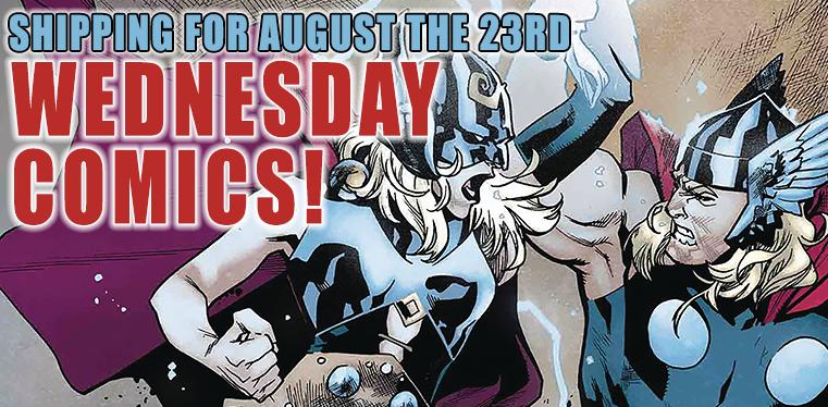 [Wednesday Comics 23/08/2017]