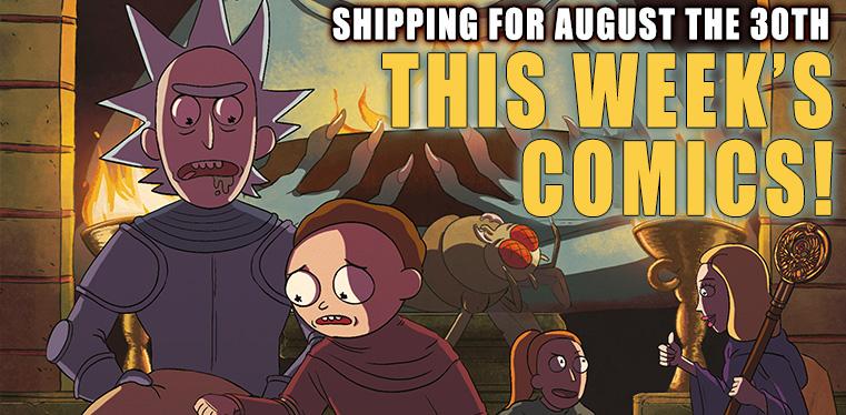 [Wednesday Comics 30/08/2018]