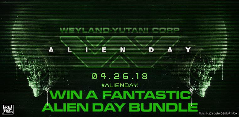 [Alien Day 2018 Competition!]