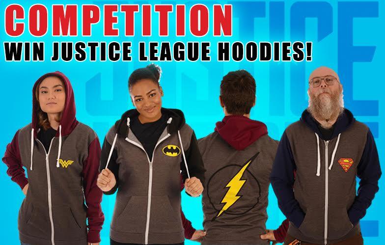 [Win Justice League Hoodies!]