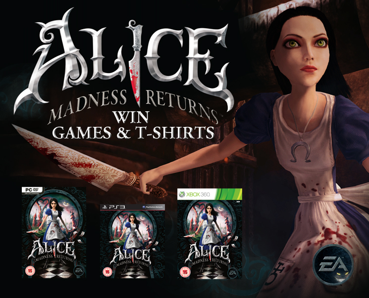 Win Alice Madness Returns Game Amp T Shirt Entry