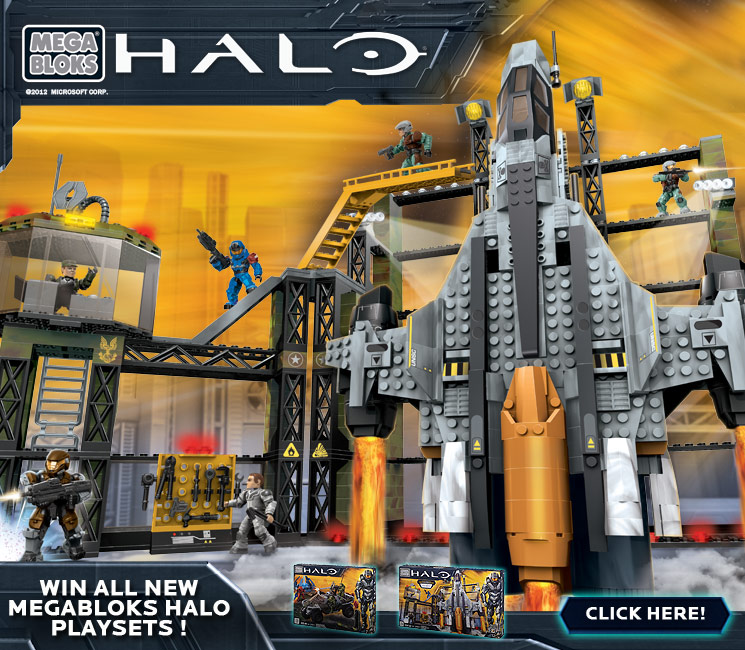 Win Mega Bloks Halo Playsets Entry Forbiddenplanet Com
