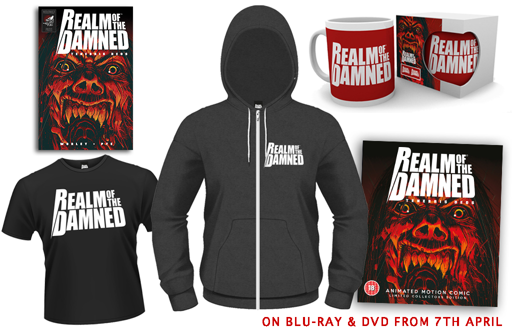 [Win a Killer Bundle of Realm of the Damned Goodies!]