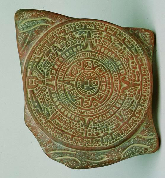 [Aztec Calendar -now, when's that dentist appointment? ]