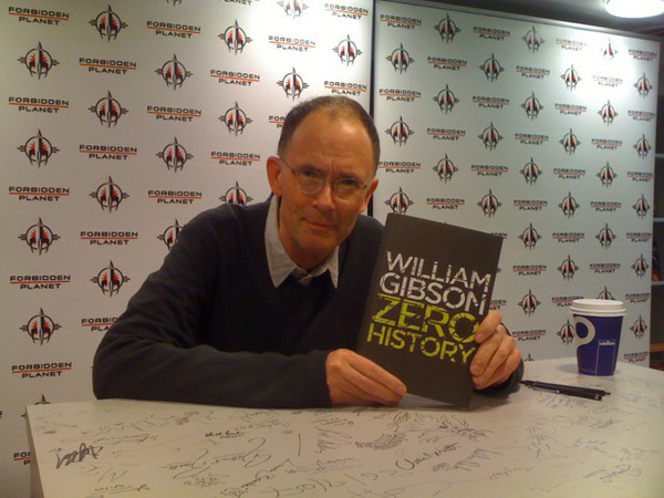 [William Gibson at Forbidden Planet ]