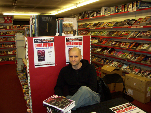 [China Miéville at FP Newcastle ]