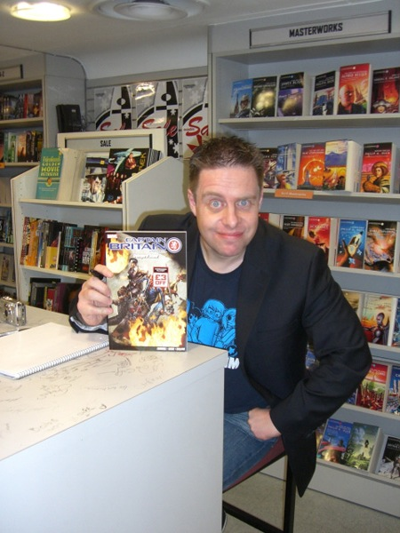 [Paul Cornell at Forbidden Planet ]