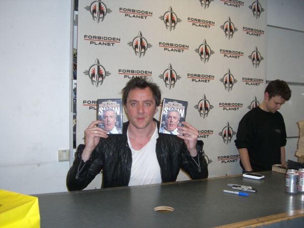 [Peter Serafinowicz at Forbidden Planet ]