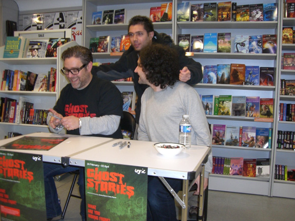 [Ghost Stories signing at FP ]