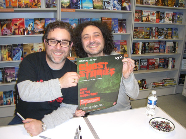 [Jeremy Dyson and Andy Nyman at FP ]