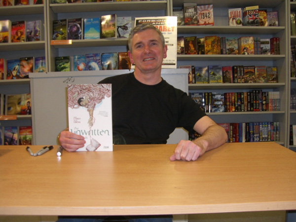 [Mike Carey at Forbidden Planet ]