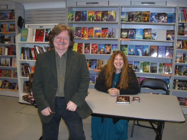 [Brian and Wendy Froud at FP ]