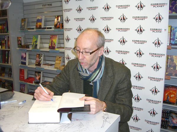 [Steven Erikson at Forbidden Planet  ]