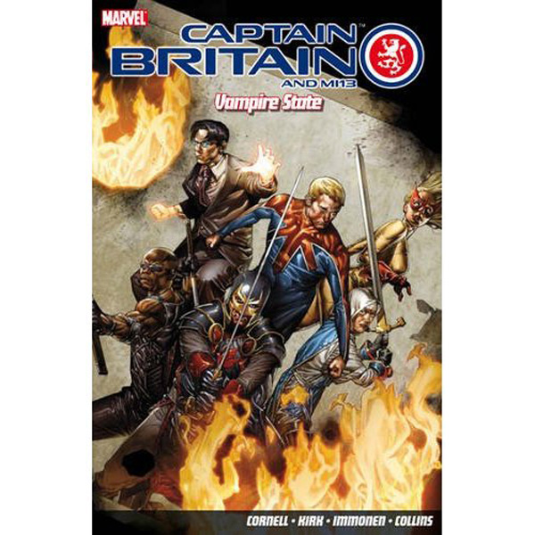 [Captain Britain and MI13: Vampire State ]