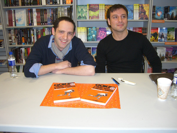 [Will Bingley & Anthony Hope-Smith at Forbidden Planet ]