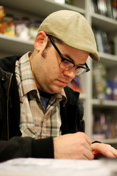 [Nathan Fox at Forbidden Planet ]