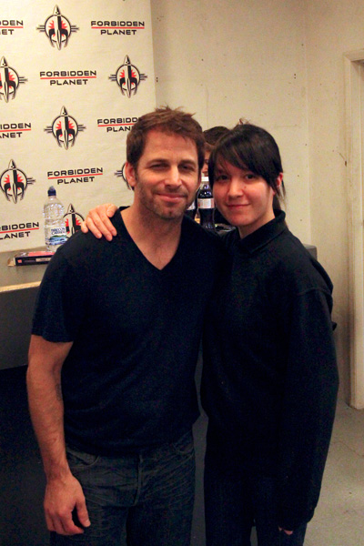 [Zack Snyder at Forbidden Planet Megastore ]