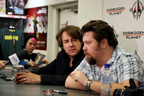 [Jonathan Ross & Tommy Lee Edwards at Forbidden Planet ]