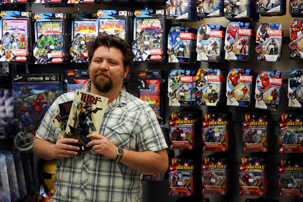 [Tommy Lee Edwards at Forbidden Planet ]
