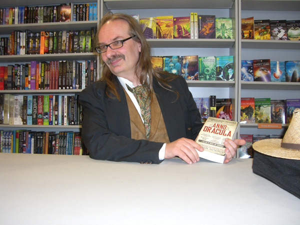 [Kim Newman at Forbidden Planet Megastore ]