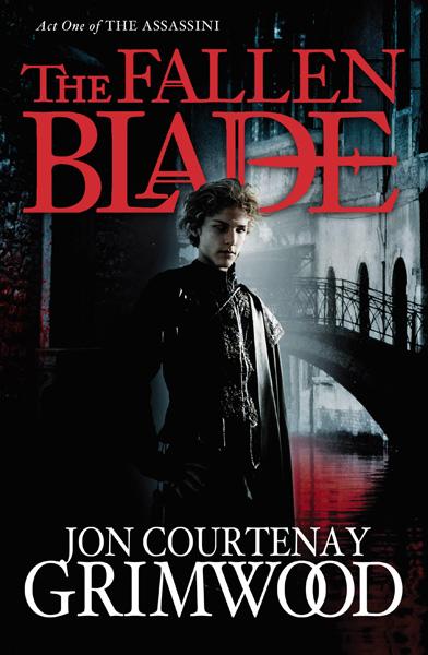 [The Fallen Blade, by Jon Courtenay Grimwood ]