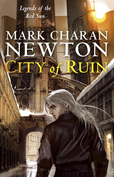[City of Ruins bu Mark Charan Newton ]