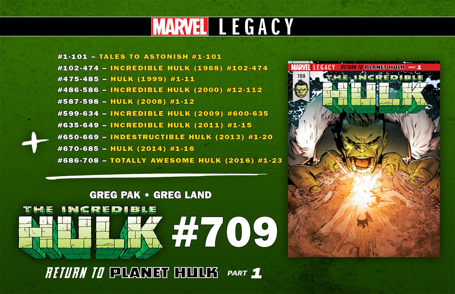 Hulk #709