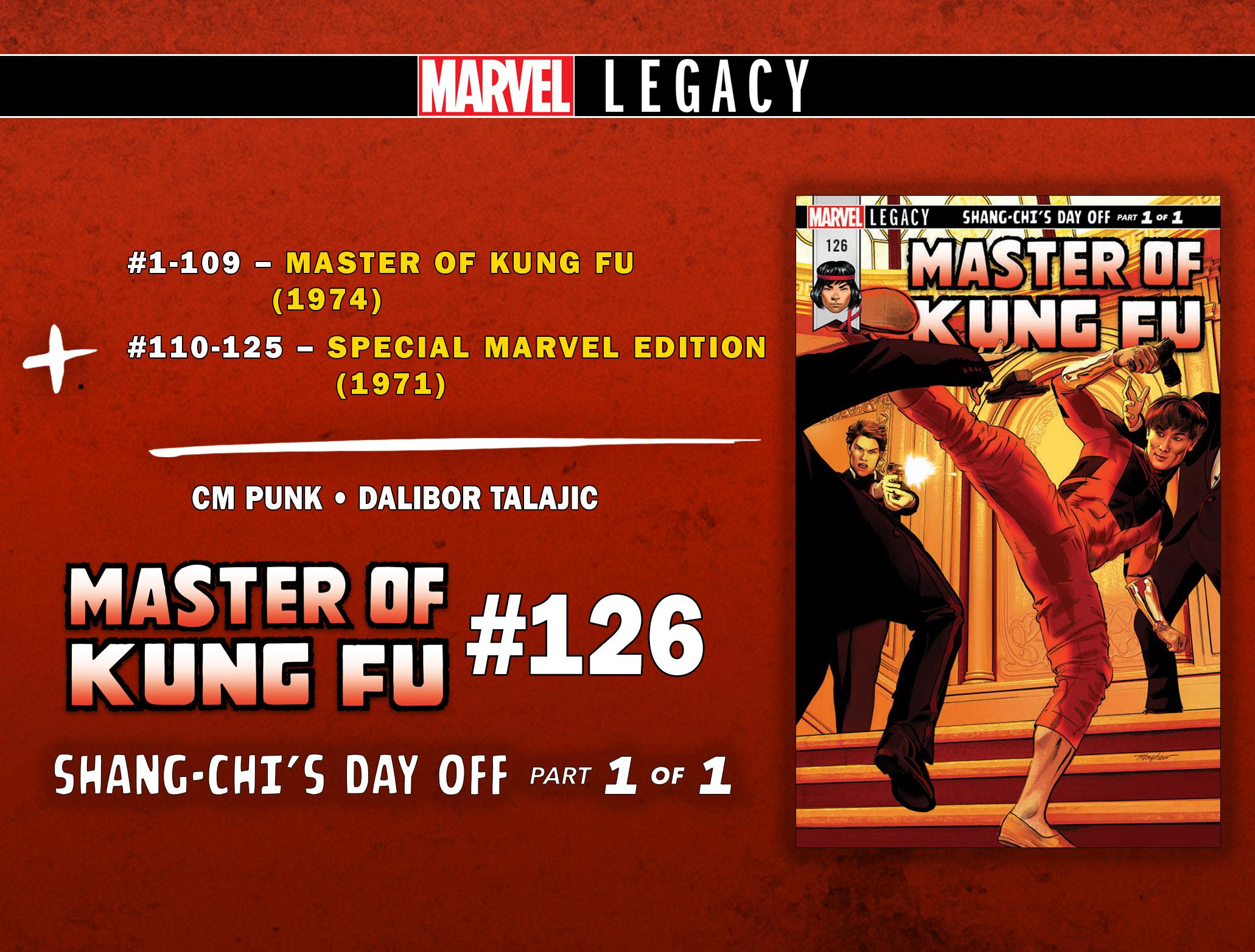 Master of Kung-Fu #126